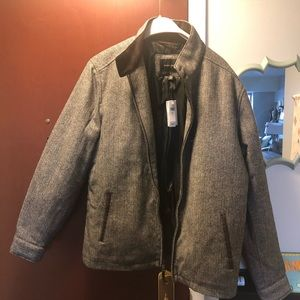 Banana Republic men's M jacket NWT herringbone